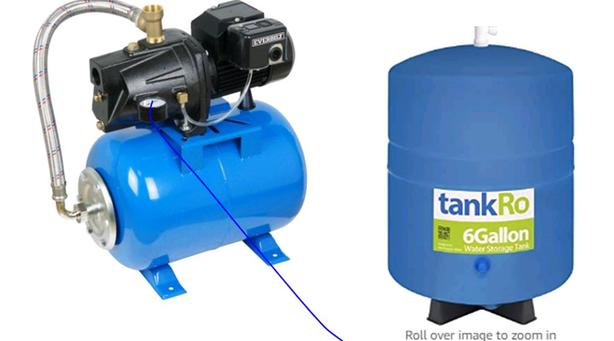 WANTED: water pressure tank