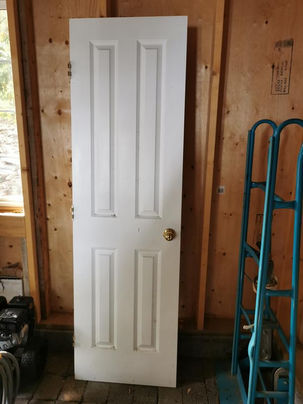 Interior 4-Panel 24 x 80 Door - $75