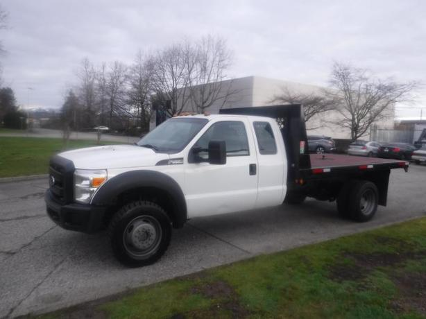 2015 Ford F-550 Flat Deck 12 foot SuperCab Dually 4WD