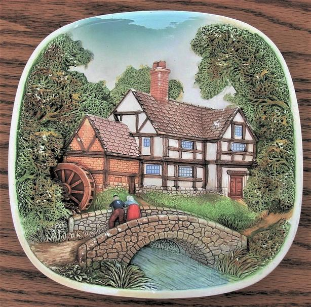 Ceramic Frame, Ceramic Wall Plate
