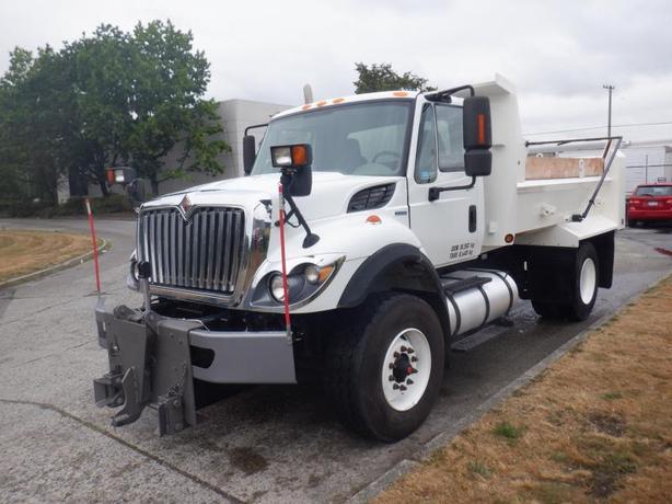 2011 International 7400 Dump Truck Air Brakes Diesel