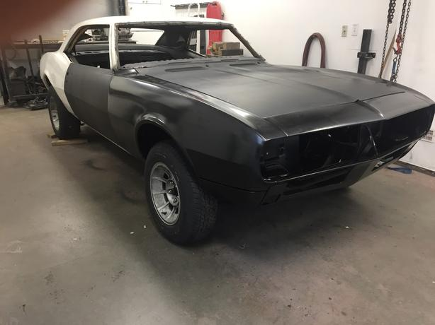 1967 Camaro RS Project Car