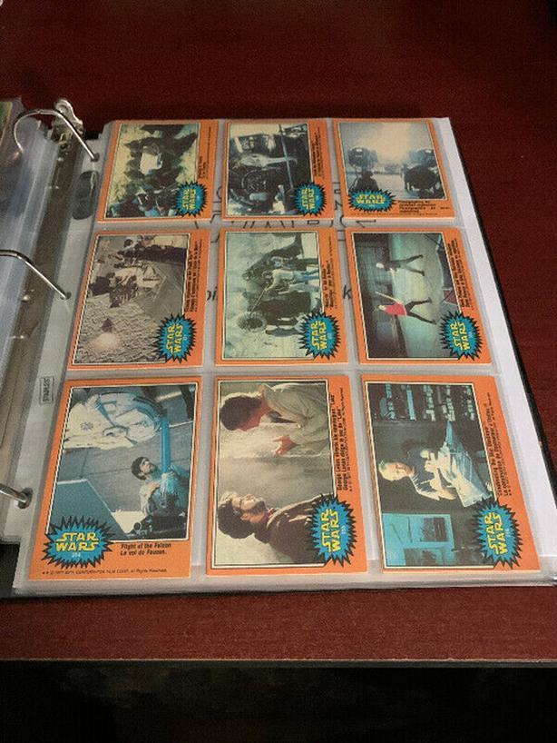 STAR WARS 1977 Cards Set O-Pee-Chee Sr 3 Missing #200+208+219