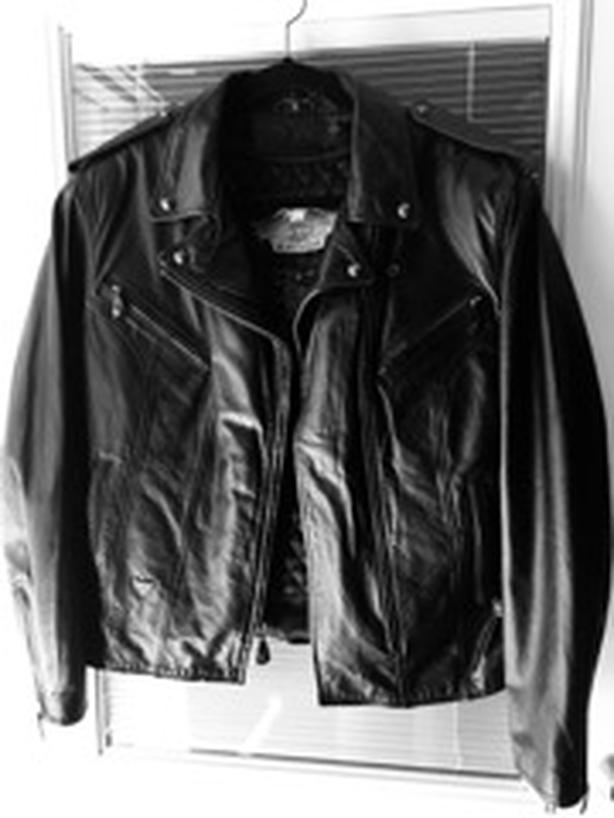 Harley Davidson Woman's Size 12 Leather Riding Jacket, never worn