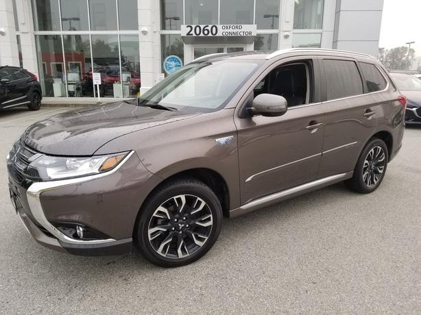 2018 Mitsubishi Outlander PHEV SE Touring Leather-Sunroof-Apple Carplay 4WD