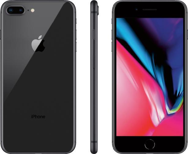 Unlocked IPhone 8PLUS, jet black,64GB / MINT*