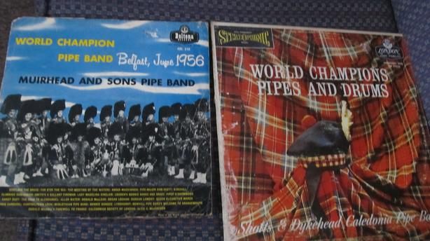 TWO PIPE BAND RECORDS