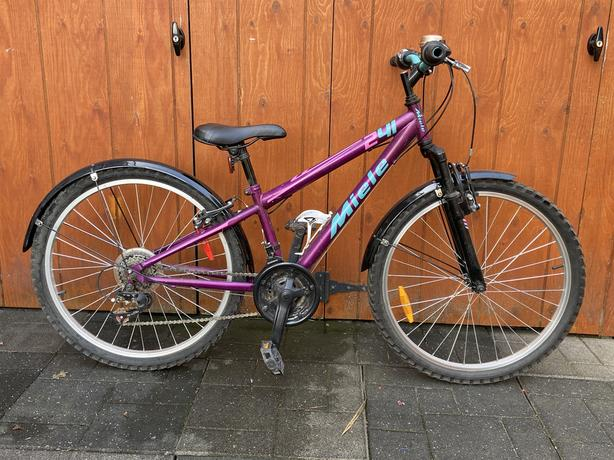 """24"""" Pazzino 241 Miele Youth Bike with front suspension"""