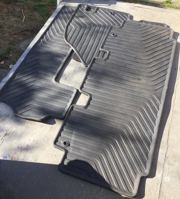Honda Odyssey Factory Floor Mats Upgrade