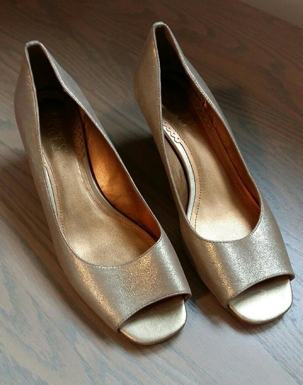 Ladies Metallic Shoes  Franco Sarto 9 1/2 M