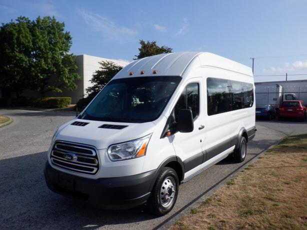 2018 Ford Transit 350 Wagon HD High Roof XLT 15 passenger 148 WB Extended