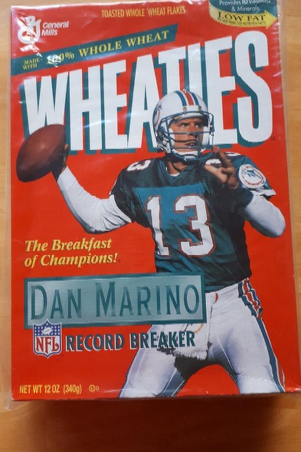 Dan Marino Wheaties Box