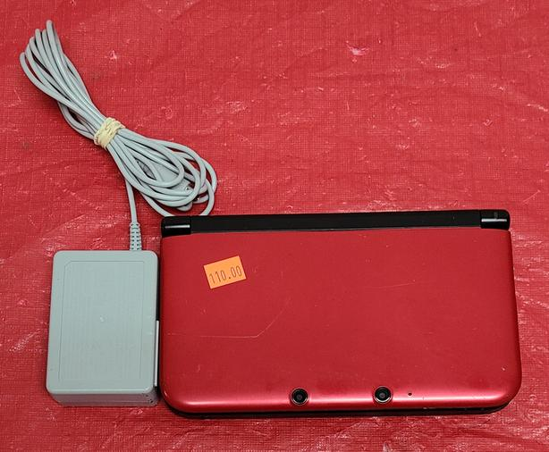 Red Nintendo 3DS XL Console - Tax In!