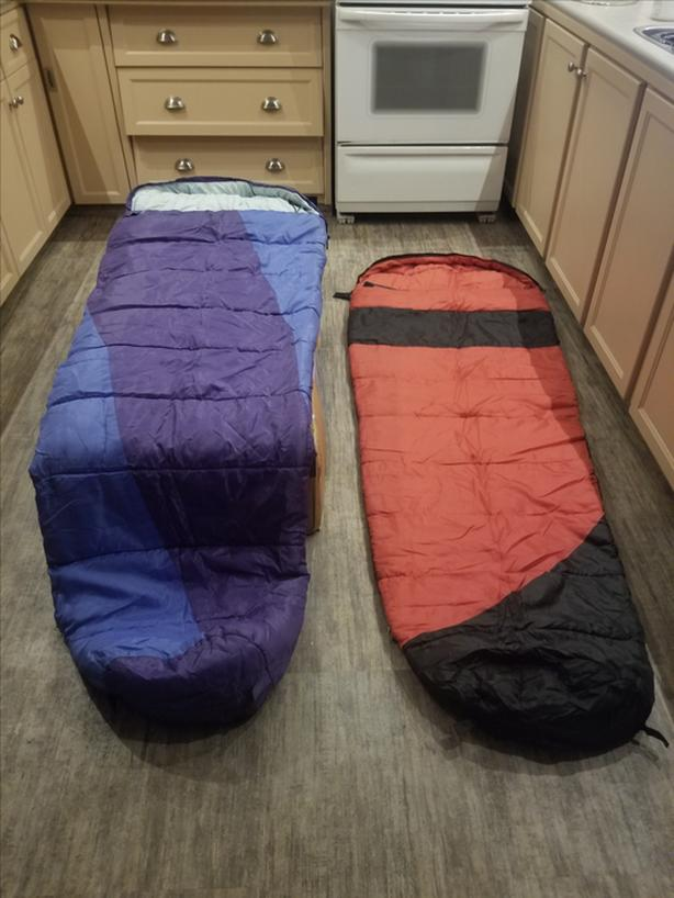FREE: Mummy Sleeping Bags