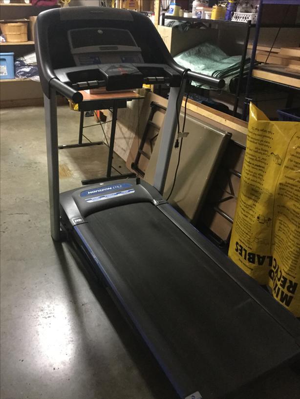 T 101 Horizon treadmill