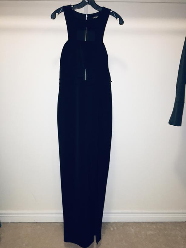 Sexy Cut out Black Dress - size 6/M
