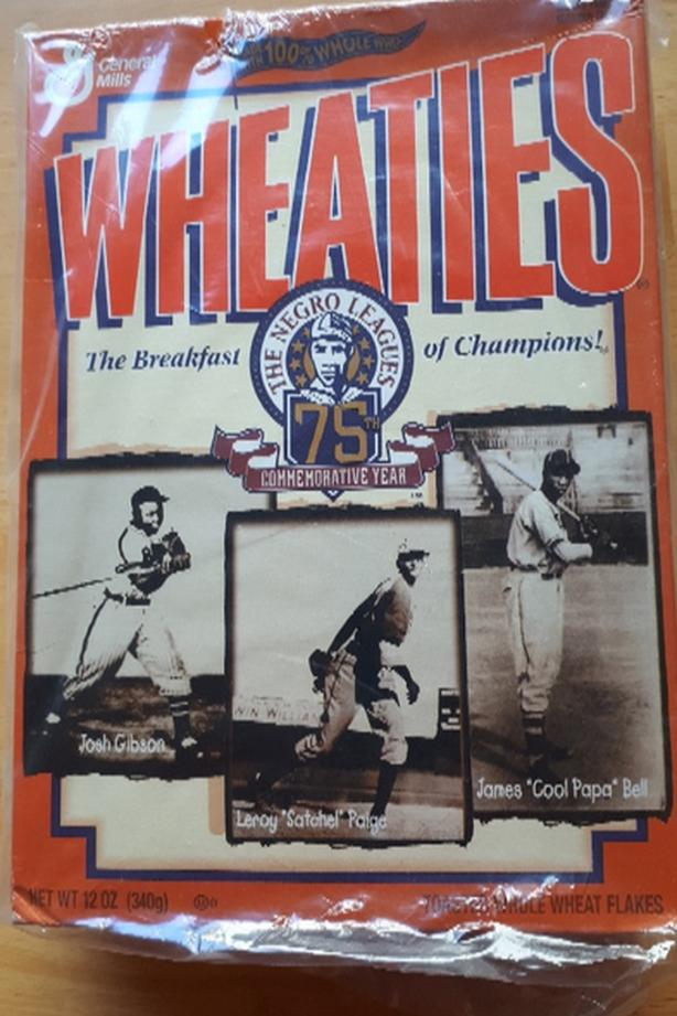 Wheaties Commemorartive Negro League