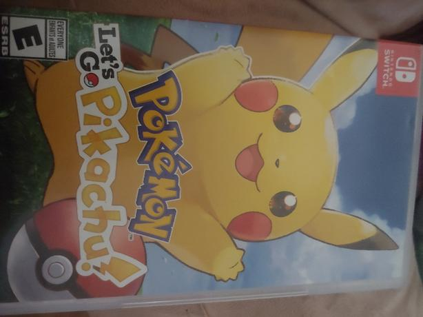 FOR TRADE: let's go Pikachu