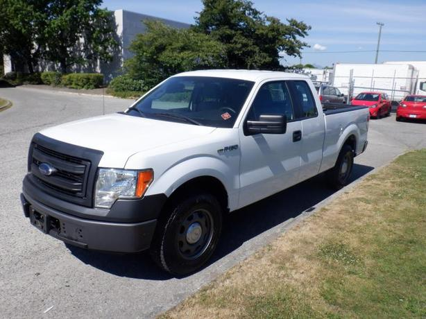 2014 Ford F-150 XL SuperCab 6.5-ft. Bed 2WD Natural Gas and Gasoline Fuel