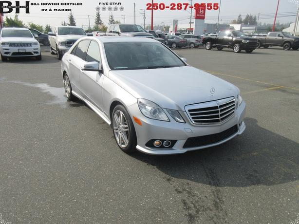 2010 MERCEDES-BENZ E-CLASS E 550 LUXURY