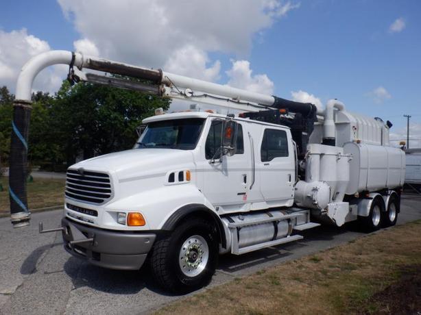 2008 Sterling LT9500 Vacall Hydro Excavation Truck Air Brakes Diesel