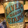 VINTAGE 1900's SILVER GLOSS STARCH (6 LBS.) TIN - CARDINAL, ONT.