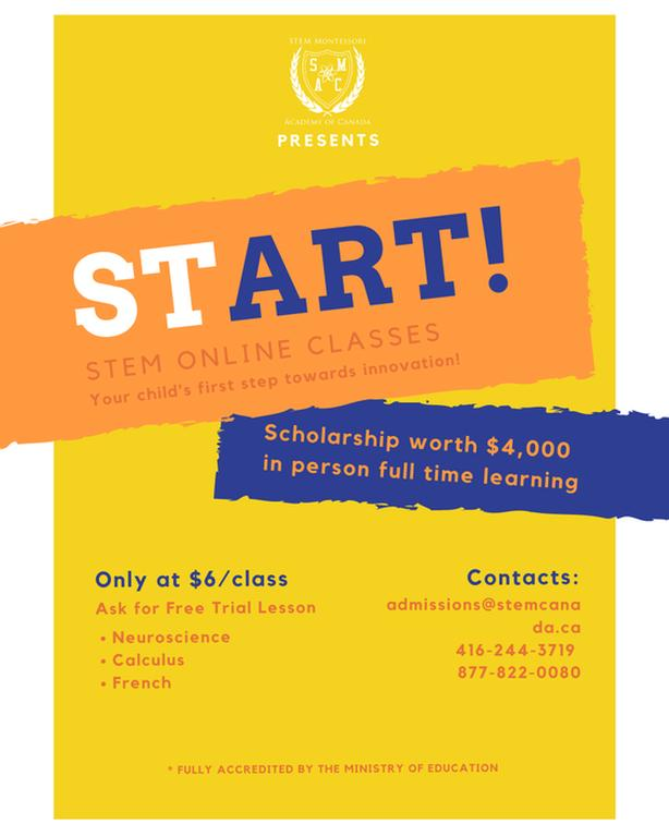 Online Learning for Students from Pre-school to Grade 12!