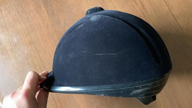Aegis Devon-Aire Riding Helmet and Mountain Horse Riding Gloves