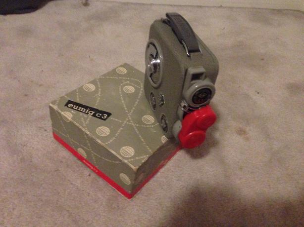 Eumig c3 film video camera