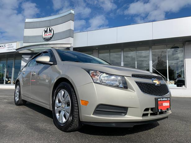 Used 2013 Chevrolet Cruze LT TURBO AUTOMATIC POWER GROUP A/C 110KM Sedan