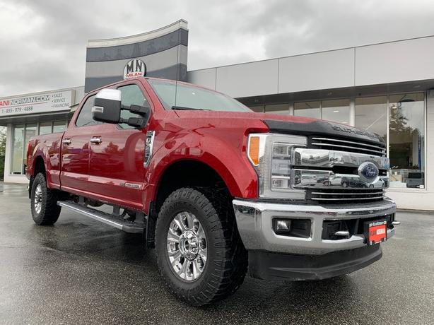 Used 2017 Ford F-350 Lariat 4WD FX4 DIESEL LEATHER NAVI CAMERA 68KM Truck Crew C