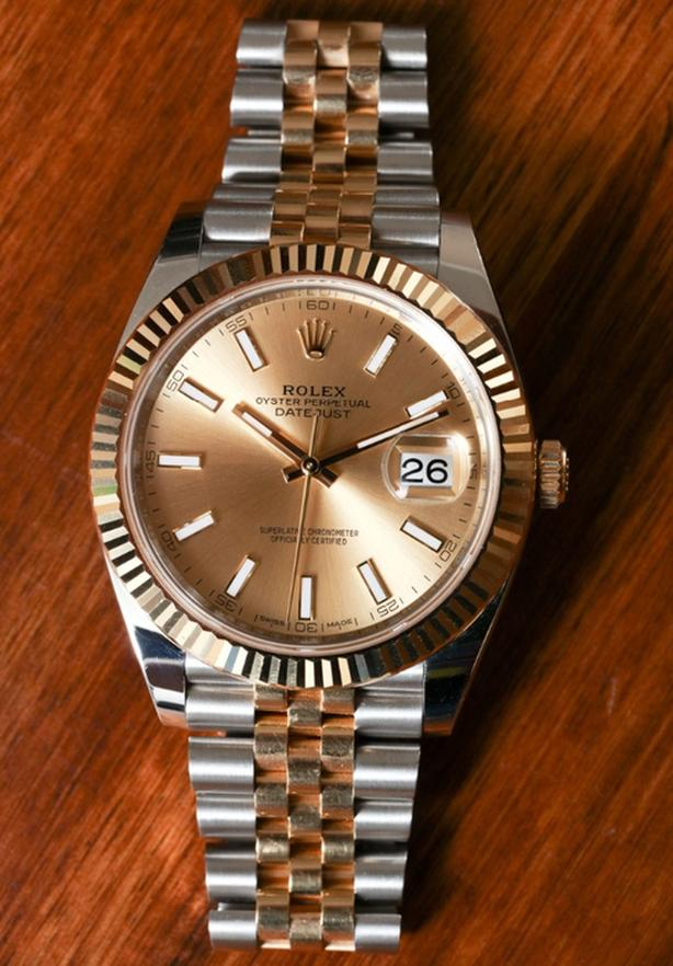 rolex datejust new with box papers proof of authenticity