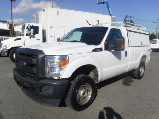 2015 Ford F-250 SD XL 4WD with Canopy and Ladder Rack