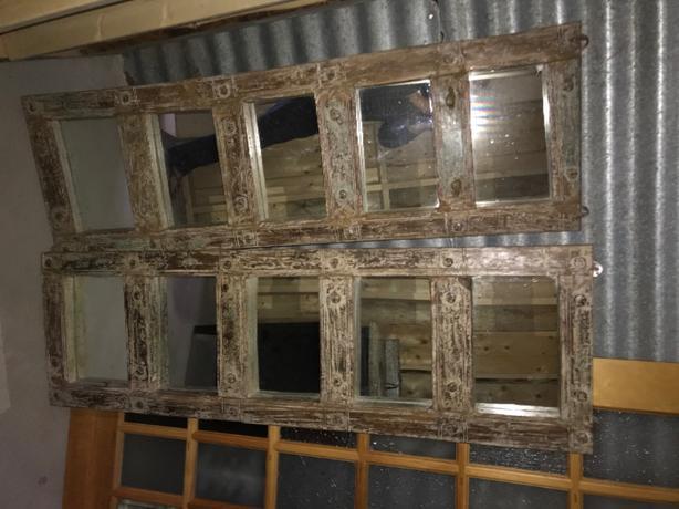 Pair of New Wood  Mirrors~Pier1