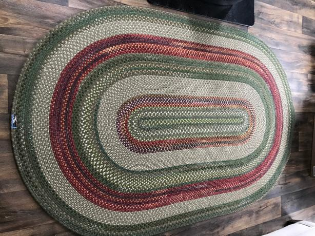 Wool Braided Rug from Becks