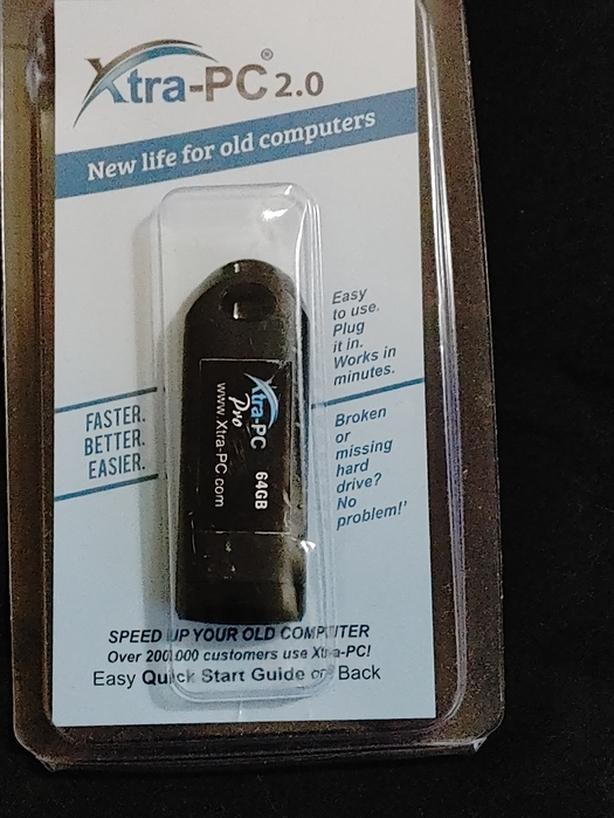 Xtra-PC Pro-64 (New in package) Turn Your Old Computer To Like New Again