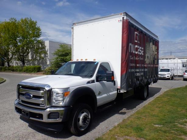 2016 Ford F-550 Cube Van 18 foot Dually 2WD Diesel