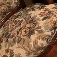 Beautiful antique wooden chairs