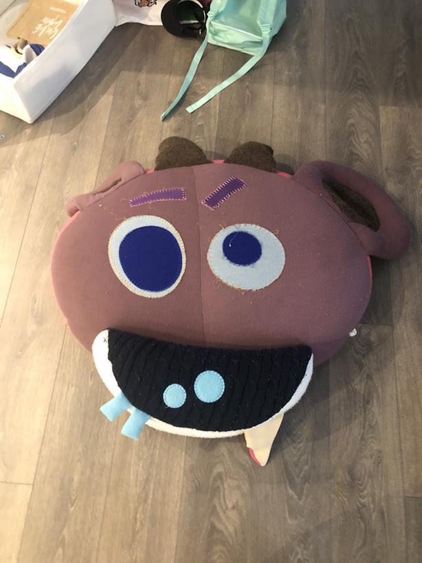 Monster seat cushion
