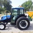 2006 New Holland TN75DA Tractor Feed/Seed Spreader Diesel