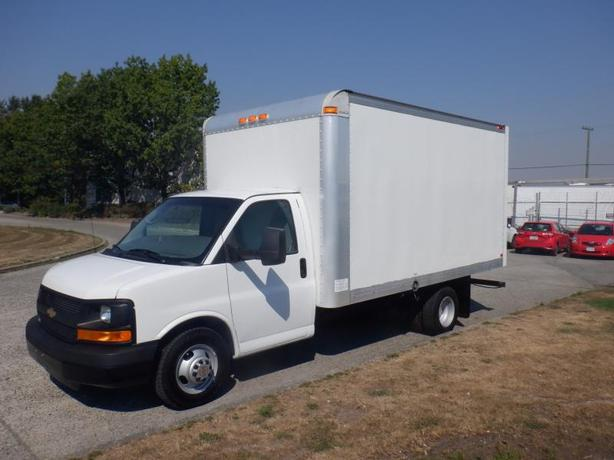 2014 Chevrolet Express G3500 14 Foot Cube Van With Ramp