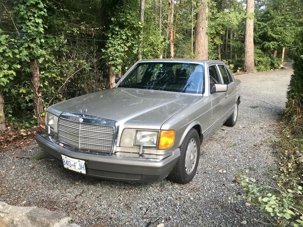 Low KMs 1989 Mercedes Benz 300SE NEW PRICE