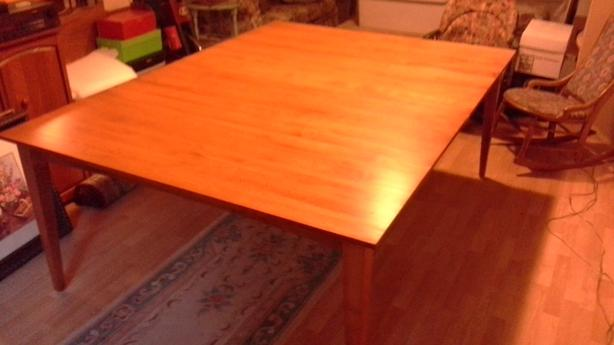 Solid Maple Table