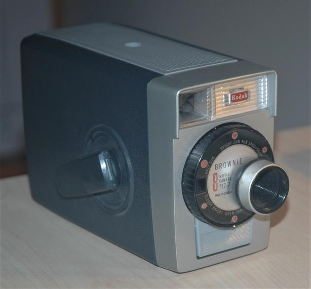 Canadian Kodak Brownie 8 8mm Movie Camera