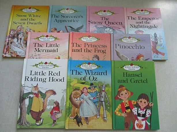 vintage book set , ten books