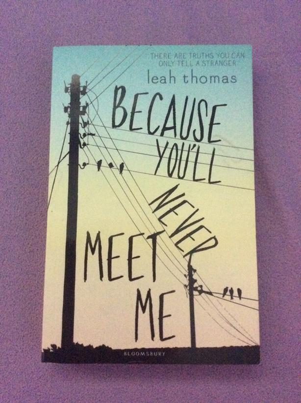 Because You'll Never Meet Me book