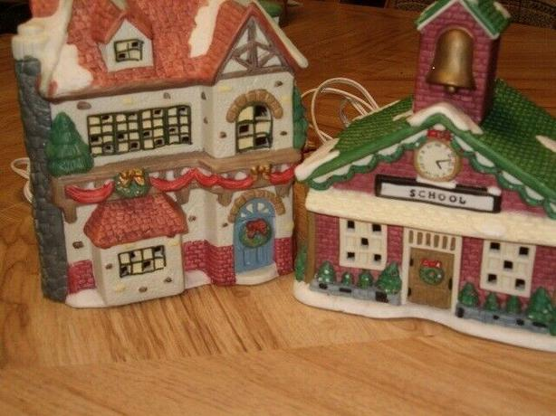Christmas villages house ,