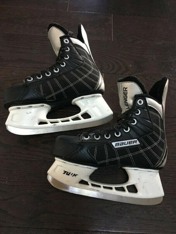 child skate bauer , tulk , challenger , 4r , shoes 5