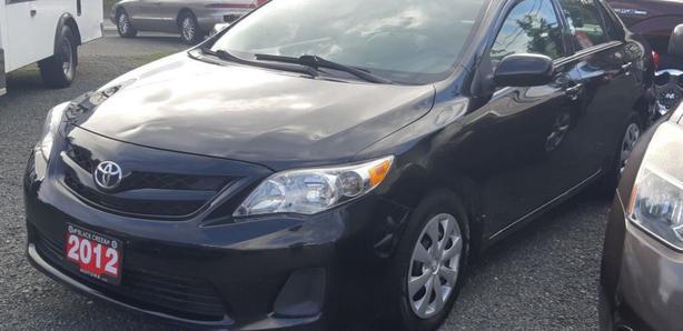 2012 Toyota Corolla CE Black Creek Motors