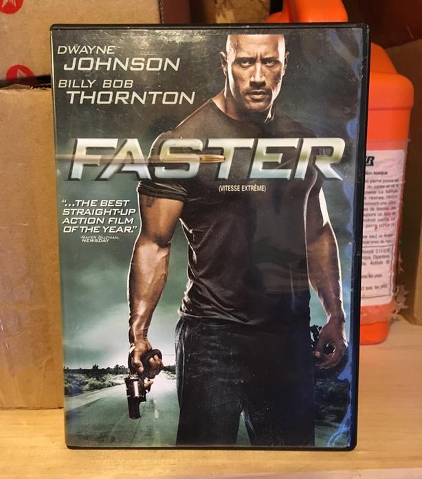 """FASTER"" DVD MOVIE - DWAYNE JOHNSON - BILLY BOB THORNTON"